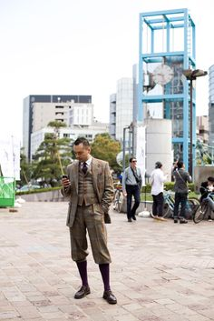 8 and 2: Tweed Run Tokyo 2012: Ready to ride (part 1)