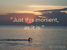 #Meditation reminder to live in the present. #sunrise