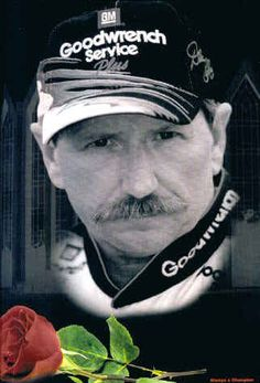 The Legend, Dale Earnhardt. #DaleEarnhardtMemorial http://www.pinterest.com/jr88rules/dale-earnhardt-memorial/