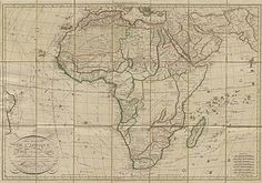 Maps of Africa: Map of Africa 1829