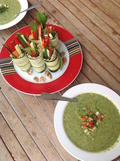 Raw Vegetable-Tofu-Rolls