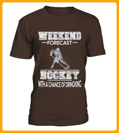 Men S Weekend Forecast Hockey With A Chance Of Drinking Shirt Xl Navy - Hockey shirts (*Partner-Link)
