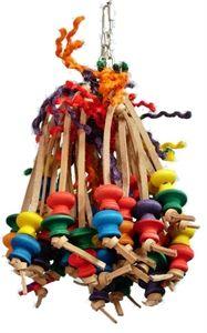 Fun Leather Parrot toys
