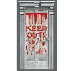 price sale on dripping blood door decoration