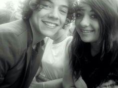 Harry and a fan