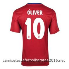 Camiseta Atletico de Madrid OLIVER 2016 1ª equipación €18.99