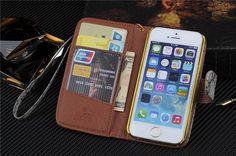 LV Gucci Burberry klassische Ledertasche für iPhone 5/5S/5C - spitzekarte.com