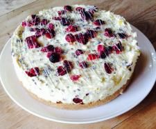 Recipe apricot, cranberry and white chocolate cheesecake by sueanne - Recipe of category Baking - sweet Thermomix Cheesecake, Thermomix Desserts, Dessert Recipes, White Chocolate Cheesecake, Queso, Chocolate Recipes, Sweet Recipes, Sweet Treats, Cooking Recipes