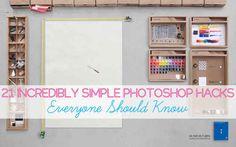21 Incredibly Simple Photoshop Hacks Everyone Should Konw