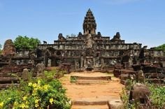 Temple In Cambodia | Bakong Temple Cambodia - Human and Natural