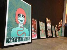 Original Artwork and Concert Posters by Tara McPherson @ Vinyl On ...