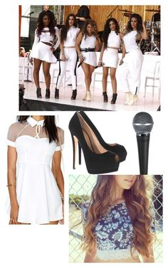 On stage with fifth harmony by cutiepiemimi on Polyvore featuring polyvore fashion style Giuseppe Zanotti clothing