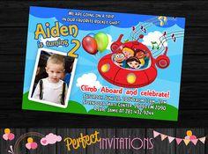 Little Einsteins Invitation Little Einsteins by MariusDesigns, $6.00