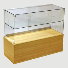 Half Vision Frameless Showcase $270.00 - 5 colors to choose from - Easy to assemble frameless structure - Strong 6mm tempered safety glass - Durable melamine laminate surface