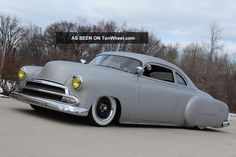 1951 Chevy Coupe,  Lead Sled,  Chop Top,  350ci,  Rat Rod,  Bagged Other photo