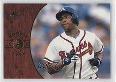 1996 Select #188 Jermaine Dye Atlanta Braves Baseball Card