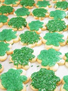 st. patty's day cookies