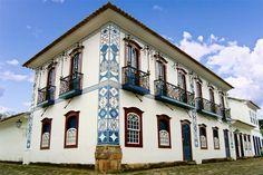 Detalhes da Arquitetura Colonial- Paraty RJ