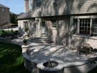 Incorporate your firepit in a retaining wall
