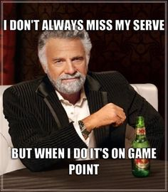 For some reason in our rotation, I'm ALWAYS the one to serve game point. I had the pressure of serving game point in an overtime that we won 33-31!