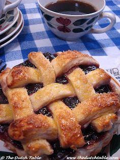 The Dutch Table: Kersenvlaai (Dutch Cherry Pie)