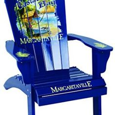 Margaritaville Painted Adirondack Chair   Browse All Of Our Adirondack  Chairs At Beachfront Decor!