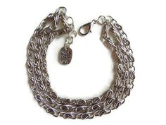 Chain bracelet chunky bracelet layered bracelet door EraOfCrea