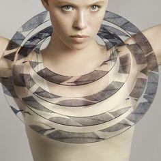 Leaf necklace by Sue Gregor