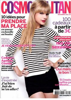 taylor swift magazine covers | Beautiful Taylor Swift on the Cover of Cosmopolitan France 2012