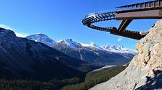 Stunning Glacier Skywalk Opens in Jasper National Park Canada National Parks, Banff National Park, Banff Canada, Alberta Canada, Canada Trip, Canada Travel, Alberta Travel, Adventure Bucket List, Student Travel