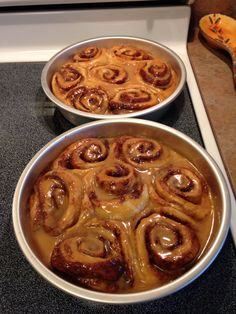Dairy-Free Cinnamon Rolls. Used Pioneer Woman's recipe but substituted Silk Vanilla Almond Milk and Earth Balance Original for milk and butter. Delicious!