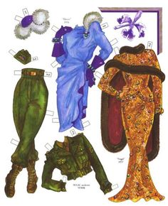Merlene Dietrich Paper Doll - Nena bonecas de papel - Picasa Web Albums