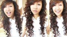 Heatless Curls - Overnight (Bendy Rollers/ Flexi Rods) 2 | Emily