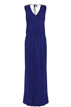 Warehouse cobalt blue maxi dress