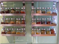 Spice and grain display