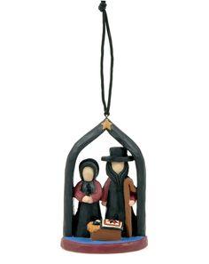 Amish Nativity Ornament  $10.99