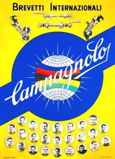 Velo-Retro: Campagnolo Poster T-Shirt