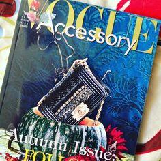Alegría de la huerta! #Vogue #accessory #italia #septiembre