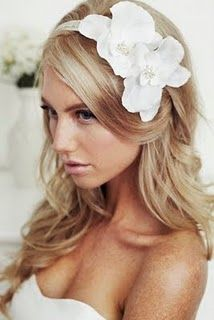 Wedding hair - bridal headband - Kristi Bonnici