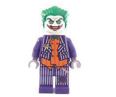 Lego custom ARKHAM JOKER from VIDEO game - Scarecrow BATMAN DARK KNIGHT