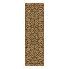 front hall: Ikin Gold Firenze Area Rug $56.93