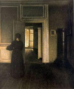 Vilhelm Hammershoi (1864-1916)