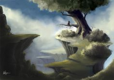 landscape by gfellou.deviantart.com on @deviantART