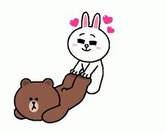 The perfect Brown Bear And Animated GIF for your conversation. Discover and Share the best GIFs on Tenor. Love You Gif, Cute Love Gif, Cute Couple Cartoon, Cute Love Cartoons, Friends Gif, Line Friends, Calin Gif, Cartoon Kiss, Gif Bonito