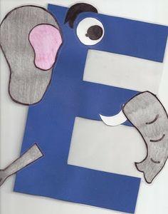 Miss Maren's Monkeys Preschool: E ... is for Elephant (Oct 19th)