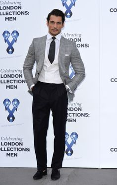 David Gandy Photos: One For The Boys Charity Ball: Arrivals - London Collections: Men SS15