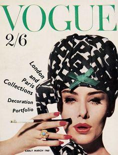 Vogue Reino Unido. Marzo 1960