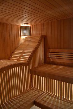 Sauna Steam Room, Sauna Room, Indoor Sauna, Indoor Outdoor, Indoor Pools, Backyard Pools, Pool Decks, Pool Landscaping, Sauna Lights