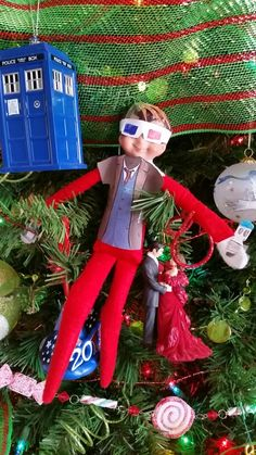 Elf on the shelf ideas  Doctor Who