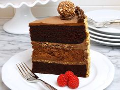 Chocolate Nutella Cheesecake Cake {with variation for Nutella Crunch Cheesecake Cake} Dedication: This special layer cake recipe is dedicated to Kate, a total Nutella freak, talented baker, food stylist, photographer and food blogger over at Diethood. Thank you for your support, Kate! xo ~Stacy Hello. My name is Stacy. I have an addiction. This is …